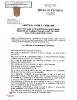 ARRETE 2020-059 ENQUETE PUBLIQUE