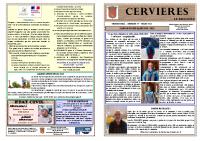 Cervières Bulletin N39 mars-2021