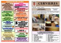 Cervières Bulletin N°40 juin-2021